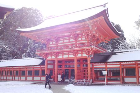 下鴨神社の中門